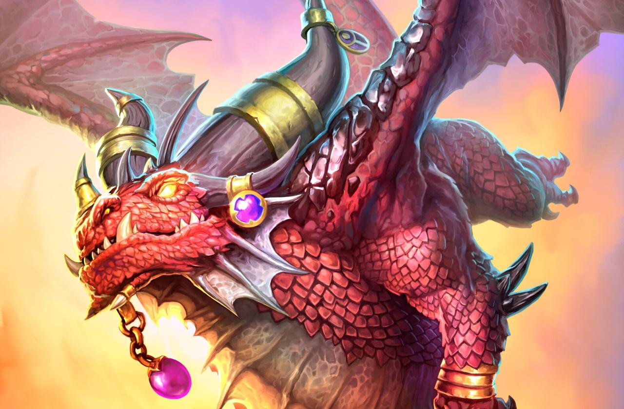 Highlander-Dragon-Hunter-deck-list-guide-Scholomance-Academy-Hearthstone-August-2020