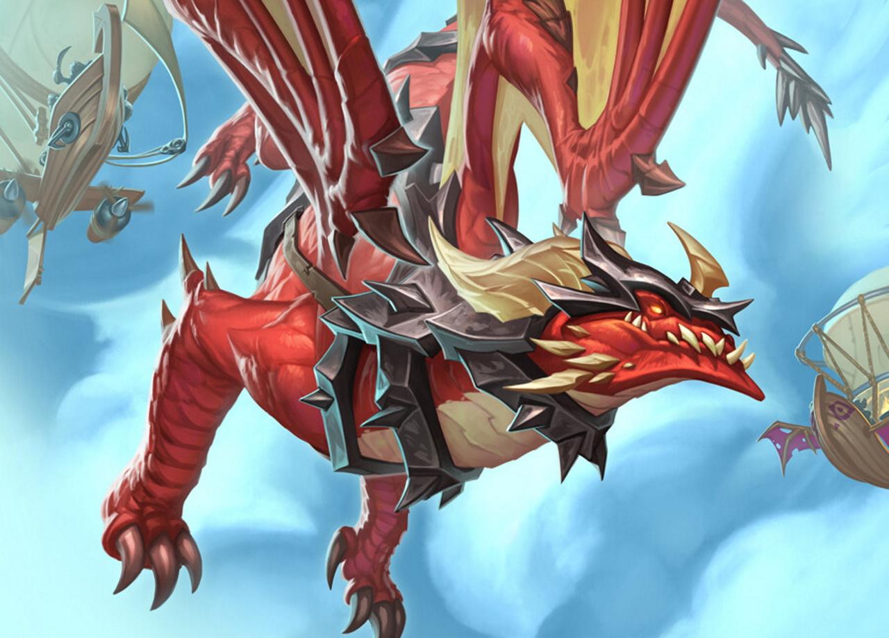 Dragon-Hunter-deck-list-guide-Scholomance-Academy-Hearthstone-August-2020