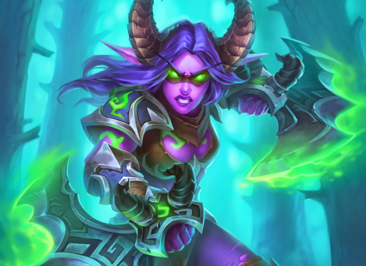 Highlander-Demon-Hunter-deck-list-guide-Ashes-of-Outland-Hearthstone-April-2020