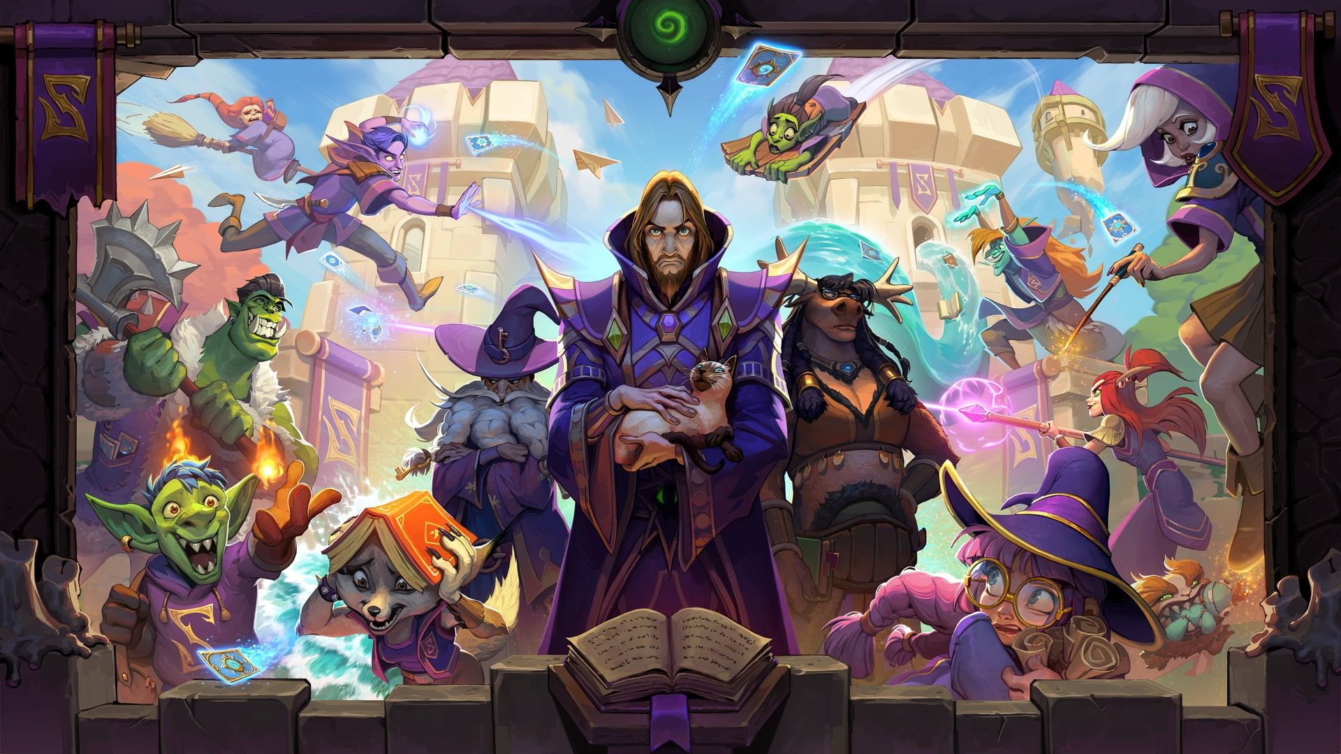 Hearthstone-Transfer-Student-all-effects-with-different-game-boards