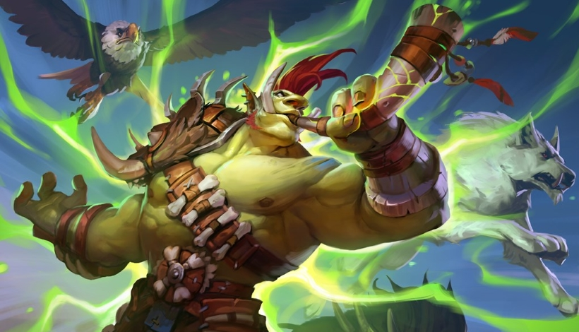 Beast-Hunter-deck-list-guide-Ashes-of-Outland-Hearthstone-April-2020