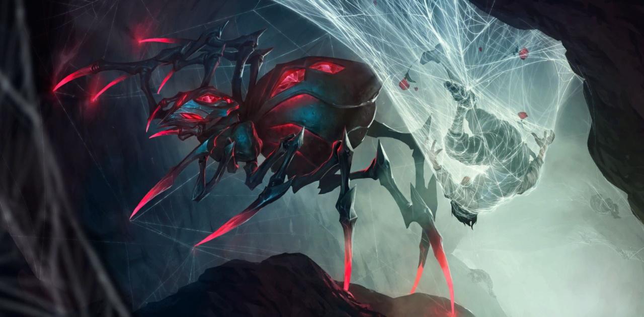Pokrovacs-Elise-Spider-Aggro-deck-list-guide-Open-Beta-Legends-of-Runeterra-February-2020