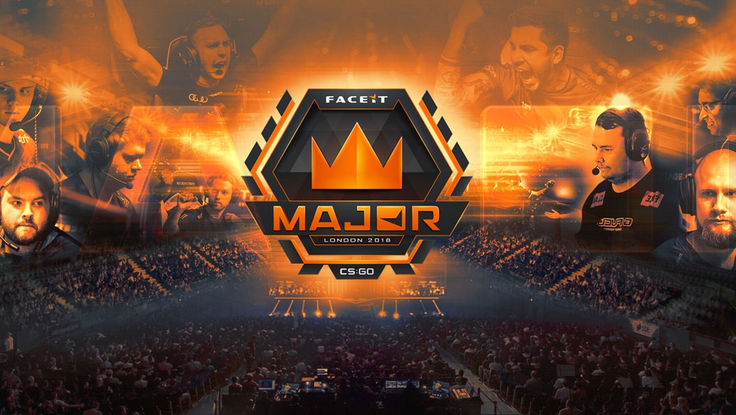 Champions-Stage-of-the-CSGO-FACEIT-London-Major-2018-now-under-way