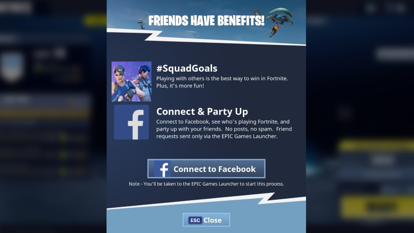 Fortnite-Battle-Royale-How-to-link-friends-on-Facebook