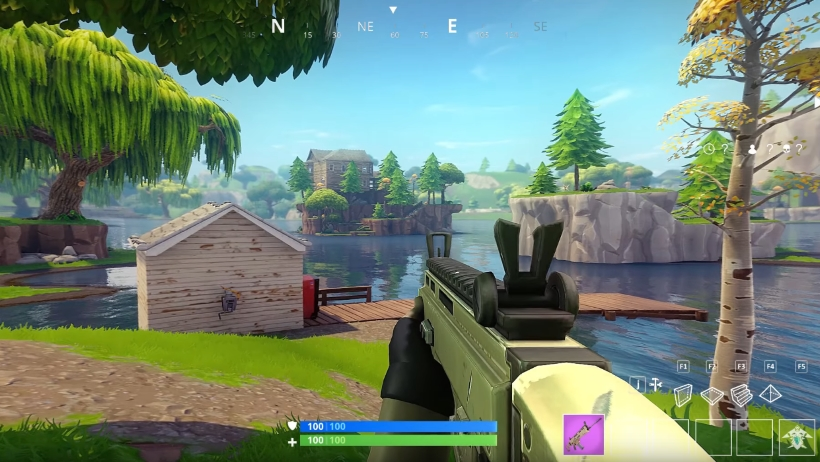 Fortnite-Battle-Royale-in-first-person-mode-looks-incredible