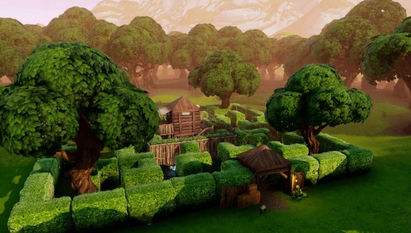 Fortnite-Shooting-Gallery-Locations-Wailing-Woods-Retail-Row-Paradise-Palms