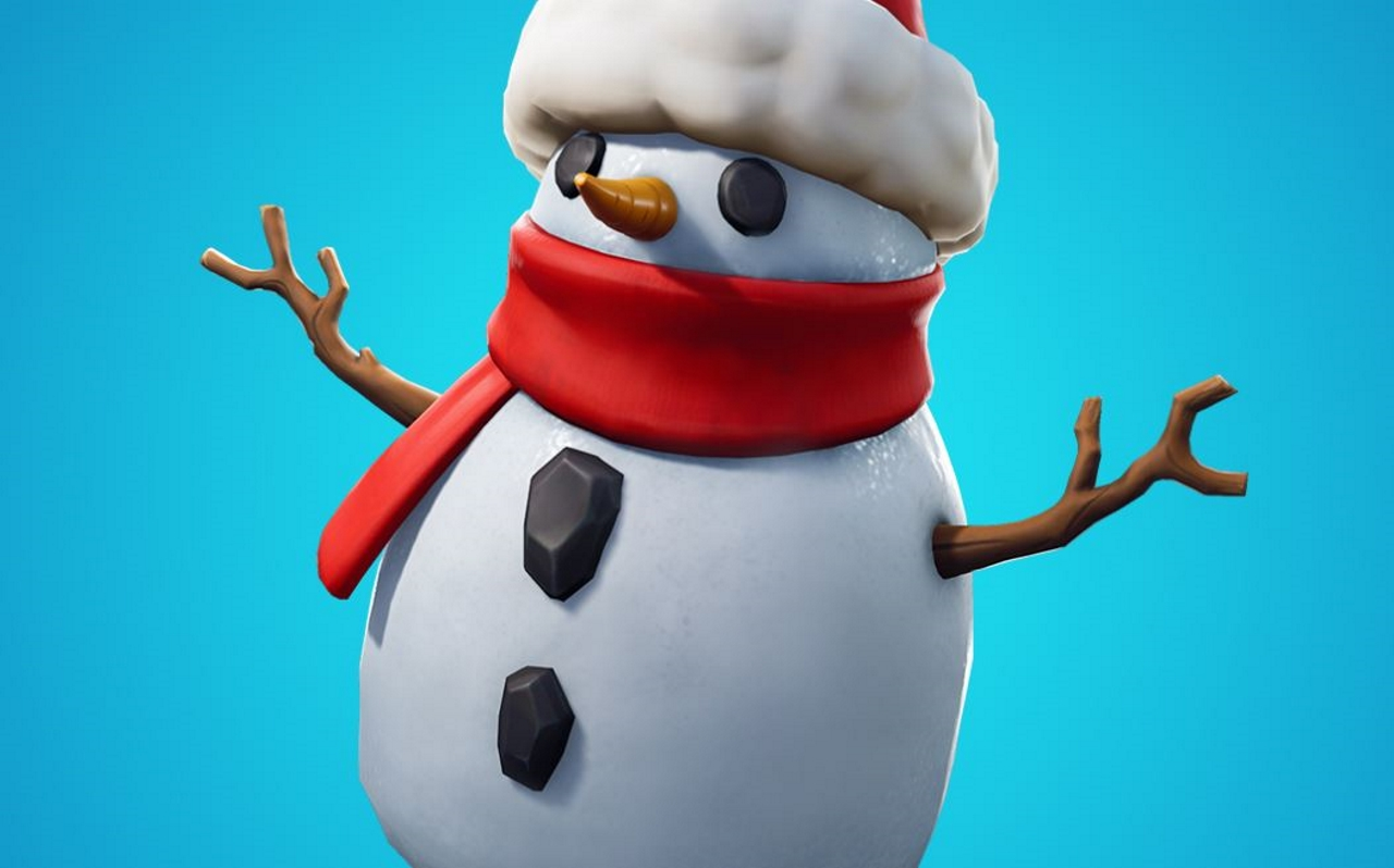 Fortnites-latest-patch-adds-a-new-Sneaky-Snowman-item