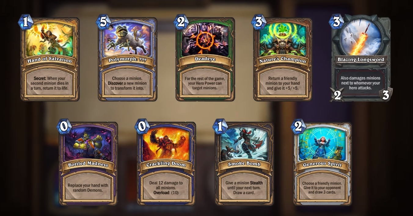Hearthstone-10.4-Arena-guide-New-Arena-cards-drafting-rules
