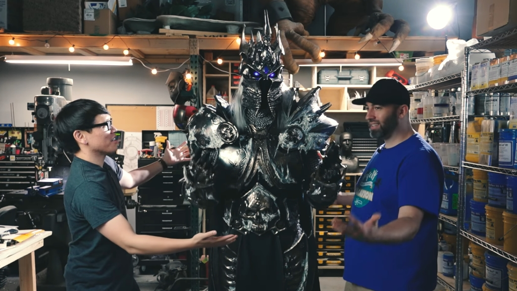 How-the-Lich-Kings-armour-was-crafted-Hearthstone