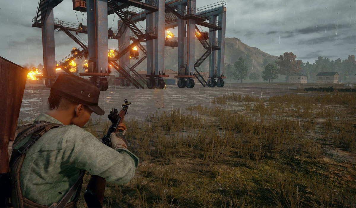 PUBG-How-to-equip-guns-attachments-and-grenades-Guide