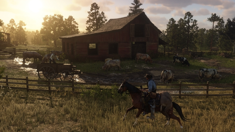 Red-Dead-Redemption-2-Unlock-War-Horse-Nuevo-Paraiso-Thoroughbred-Volcanic-Pistol-and-Varmint-Rifle